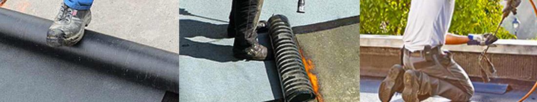 Flachdachsanierung Bitumendach