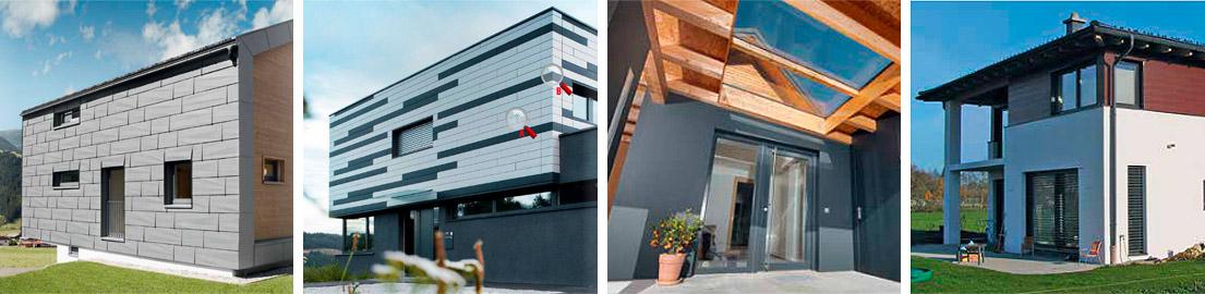 fassadenverkleidung aluminium klempnerei dachdeckerei schreiber. Black Bedroom Furniture Sets. Home Design Ideas