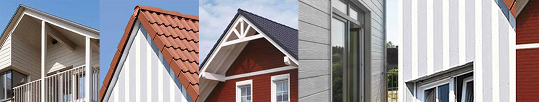 Dachdecker Fassadenverkleidung Faserzement