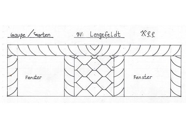 Entwurf der Schieferdeckung